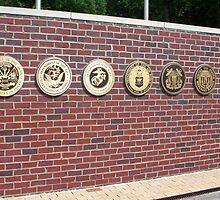 veterans war memorial north carolina usa by Jonathan  Green
