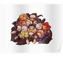 Hug the hobbit Poster