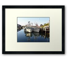 The Tide is IN  Framed Print