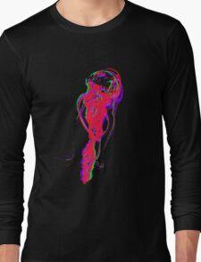 Neon Jellyfish Long Sleeve T-Shirt