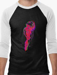 Neon Jellyfish Men's Baseball ¾ T-Shirt
