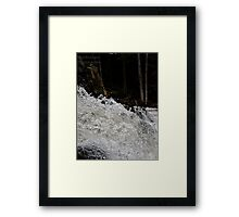 Waters furry Framed Print