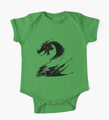 Dragon GW2 Black One Piece - Short Sleeve