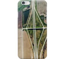 Aerial Highway Overpass Intersection iPhone Case/Skin