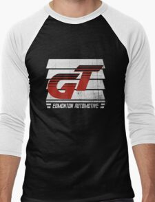 Edmonton Auto - Red & White - Slotted Up Men's Baseball ¾ T-Shirt