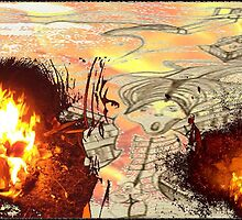 "xiiiJ *""salamander too munch""* iii1 v3_savedfromthefire by artbyangela"