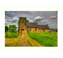 St Mary Church - Marton in the Forest Art Print