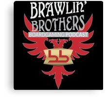 Brawling Brothers Design 2 Canvas Print