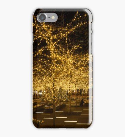 A Little Golden Garden in the Heart of Manhattan, New York City  iPhone Case/Skin