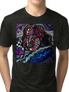 All Oscar Wilde art is quite useless Tri-blend T-Shirt