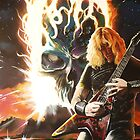 dave munstaine,..megadeth by alan  sloey