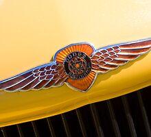 Yellow Dodge by Jason Adams