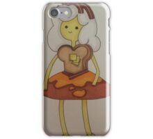 Breakfast princess iPhone Case/Skin