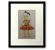 Breakfast princess Framed Print