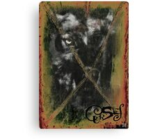 CURSES COVER ART Canvas Print