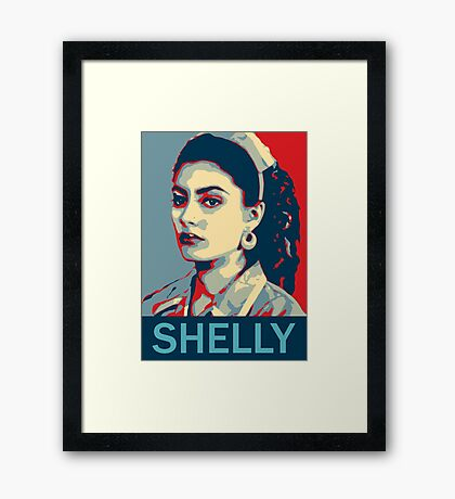 Shelly Johnson - Twin Peaks Framed Print