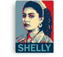 Shelly Johnson - Twin Peaks Canvas Print