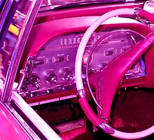 Pink Interior Trim by Smurfesque