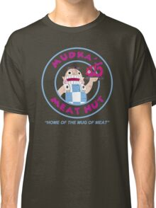 Mudka's Meat Hut Logo Classic T-Shirt