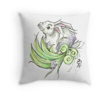 Year of the rabbit Throw Pillow