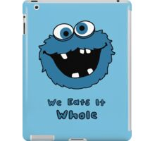 We Eats It Whole iPad Case/Skin