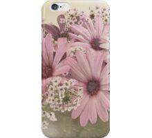 Pink Osteospernum Flowers iPhone Case/Skin