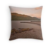Loch Ness Throw Pillow