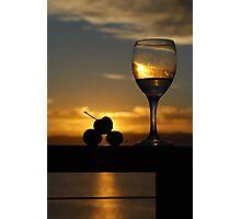 Sunset Drinks Photographic Print