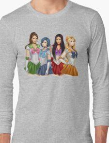 Pretty Little Liars as Sailor Moon Long Sleeve T-Shirt