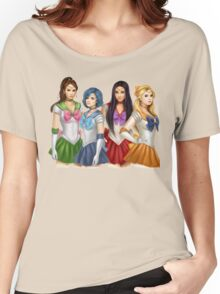 Pretty Little Liars as Sailor Moon Women's Relaxed Fit T-Shirt