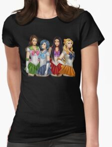 Pretty Little Liars as Sailor Moon Womens Fitted T-Shirt