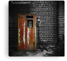 Fill up at the Convent Canvas Print