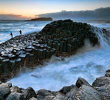 Rock Fishing at Fingal Head by Jason Pang, FAPS FADPA