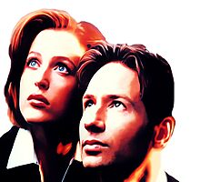 Scully Mulder X Files  by LordGloria