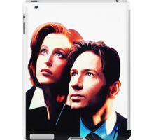Scully Mulder X Files  iPad Case/Skin