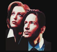 Scully Mulder X Files  Kids Clothes