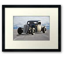 1936 Chevy Rat Pickup 'The Accomplice' Framed Print