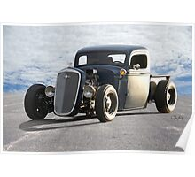 1936 Chevy Rat Pickup 'The Accomplice' Poster