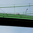 waving from the bridge by 1busymom
