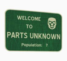 Welcome To Parts Unknown Baby Tee