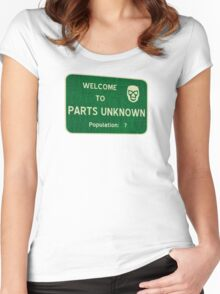 Welcome To Parts Unknown Women's Fitted Scoop T-Shirt