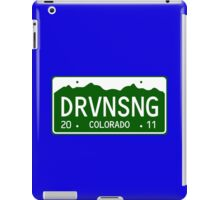 Driving Song iPad Case/Skin