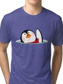 My little penguin Tri-blend T-Shirt