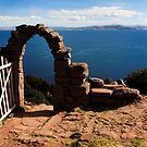 Old Gate On Lake Titticaca by aguakina
