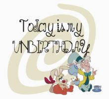 """""""Today is My Unbirthday"""" Kids Clothes"""