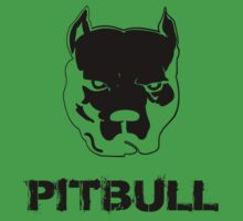 pit bull - pitbull terrier Kids Clothes