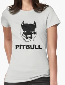 pit bull - pitbull terrier Womens Fitted T-Shirt