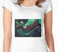 Scannography Design Women's Fitted Scoop T-Shirt