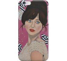 Zooey Deschanel iPhone Case/Skin