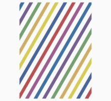 Colourful trippy stripes Kids Clothes